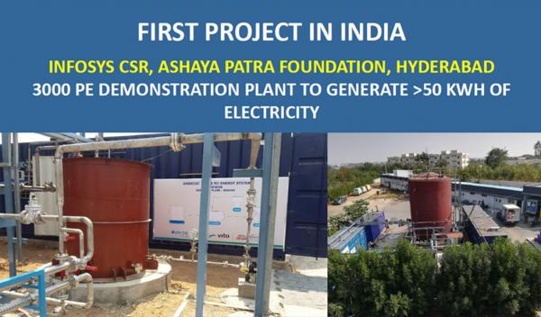 Andicos first project in India